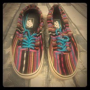 🌵Vans Multicolor Shoes Size 9